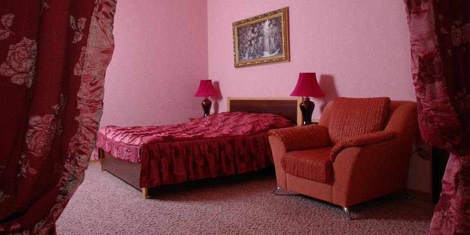 Номер 1 Спальня. Тип номера - ЛЮКС
